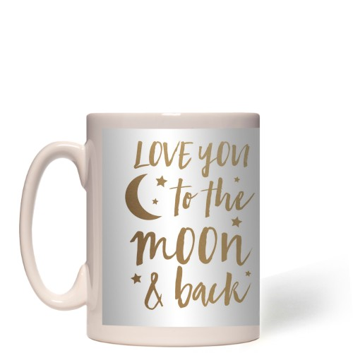 Bokeh To the Moon Mug