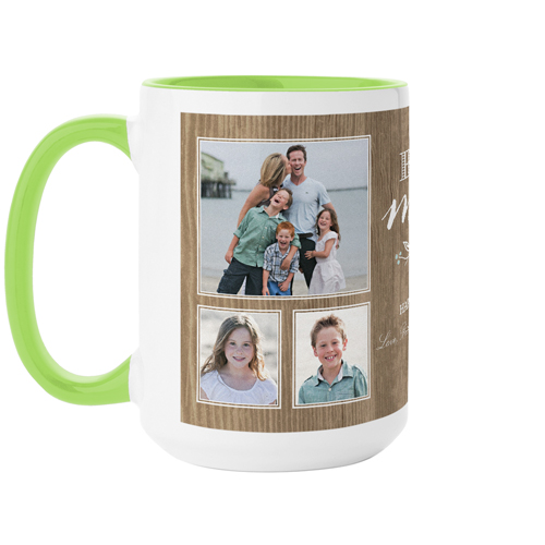 Best Mom Rustic Mug