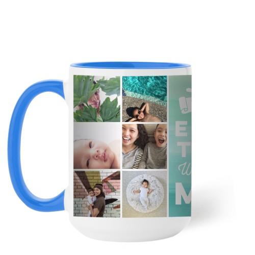 Ombre Grid Mug