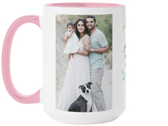 grandparent foliage mug