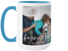 simply beyond blessed mug