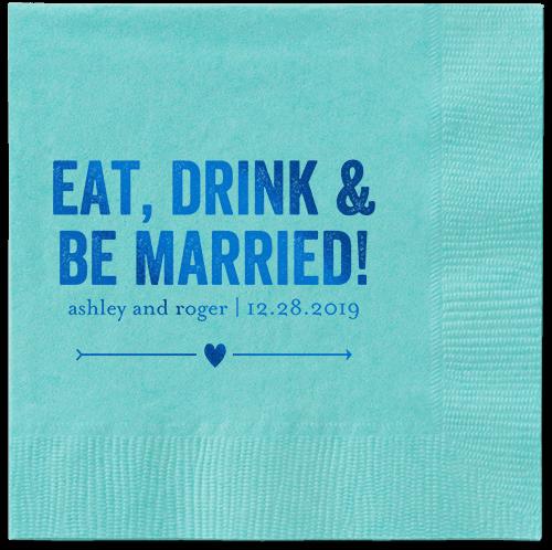 Married Fun Napkins