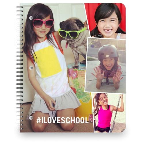 Tilty Frame Collage Notebook