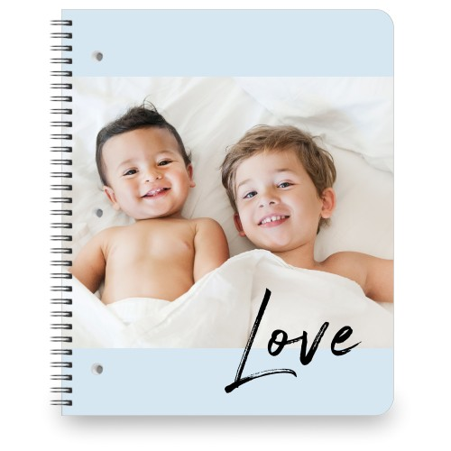Love Contemporary Large Notebook, 8.5x11, DynamicColor