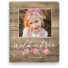 princess wild and free large notebook
