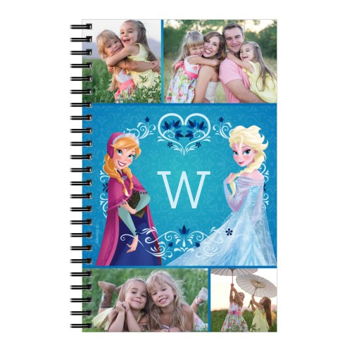 Disney Frozen Anna And Elsa Notebook