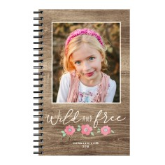 princess wild and free 5x8 notebook