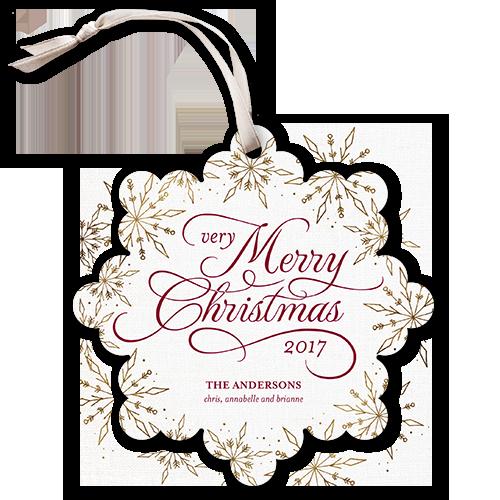 Very Merry Noel Christmas Card