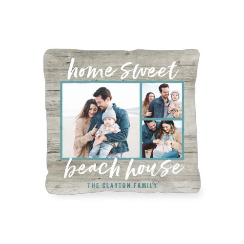 Home Sweet Beach House Outdoor Pillow