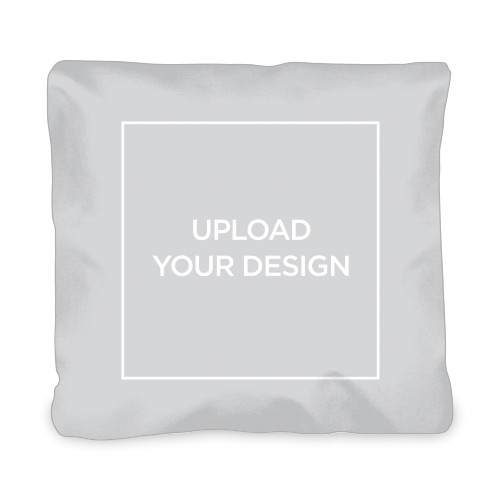 Upload Your Own Design Outdoor Pillow, Pillow (Navy), 20 x 20, Single-sided, Multicolor