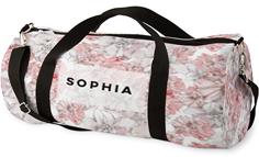 princess floral kids overnight bag