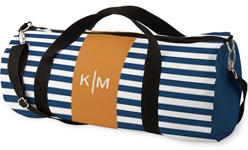 b688cbbbe Stripe Monogram Kids Overnight Bag | Shutterfly