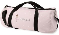 princess dancer hearts kids overnight bag
