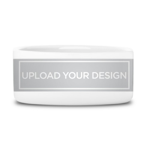Upload Your Own Design Pet Bowl