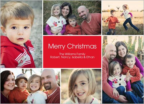 Cheer All Around Christmas Card