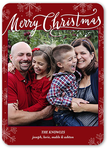Moment In Time Christmas Card