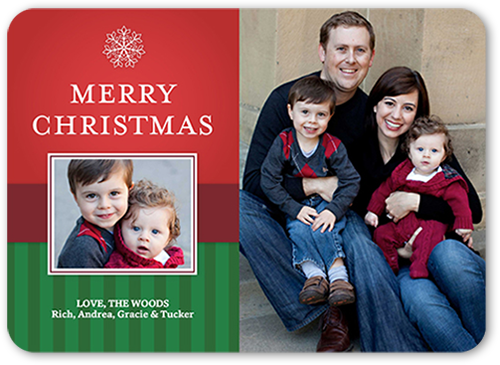 Perfectly Framed Christmas Card