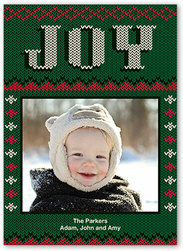 Festive Sweater Christmas Card