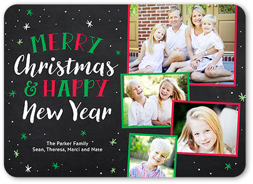 Shutterfly Christmas Cards.Blissful Falling Flurries 5x7 Photo Christmas Cards Shutterfly