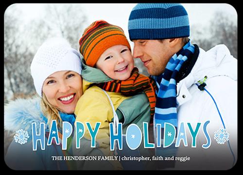 Fun Filled Cutouts Holiday Card
