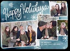 enchanting collage holiday card 5x7 photo