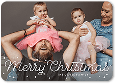 bouncy dots holiday card