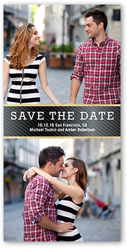 Shining Stripes Save The Date