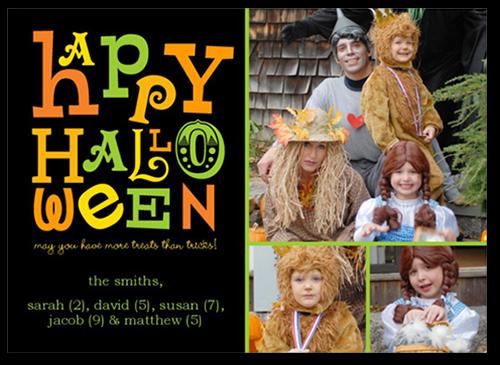 Halloween Treats Halloween Card