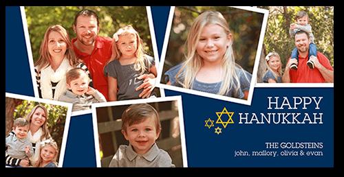 Happy Little Frames Hanukkah Card