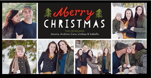 Wishing Trees Christmas Card