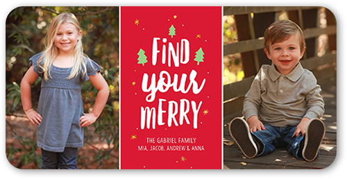 Find Your Merry Gallery Christmas Card