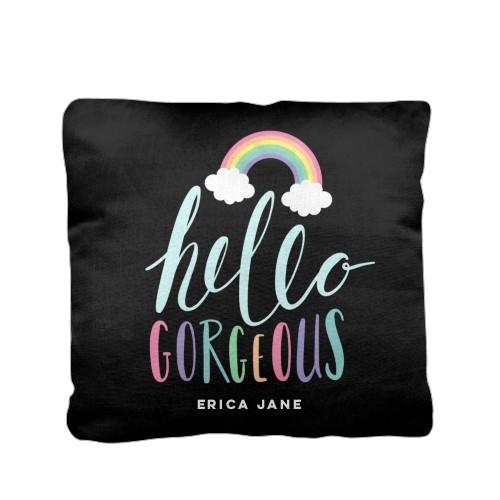 Emoji Rainbow Clouds Pillow Custom Pillows Home Decor Shutterfly