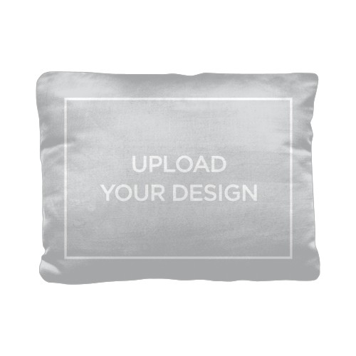 Upload Your Own Design Pillow, Cotton Weave, Pillow (Ivory), 12 x 16, Single-sided, Multicolor
