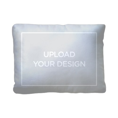 Upload Your Own Design Pillow, Plush, Pillow (Plush), 12 x 16, Single-sided, Multicolor