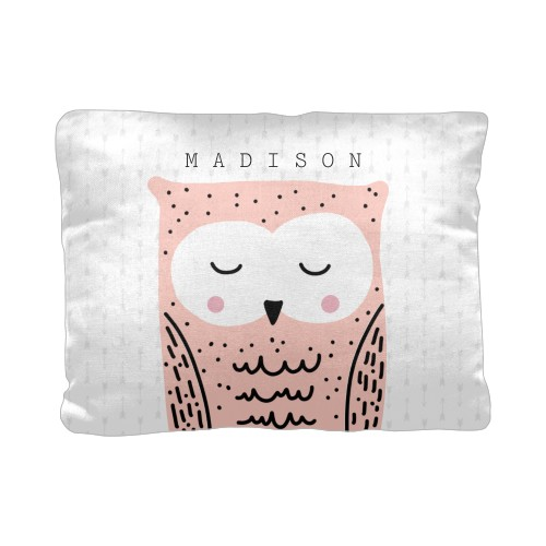 Adventure Owl Pillow, Cotton Weave, Pillow (Ivory), 12 x 16, Single-sided, DynamicColor