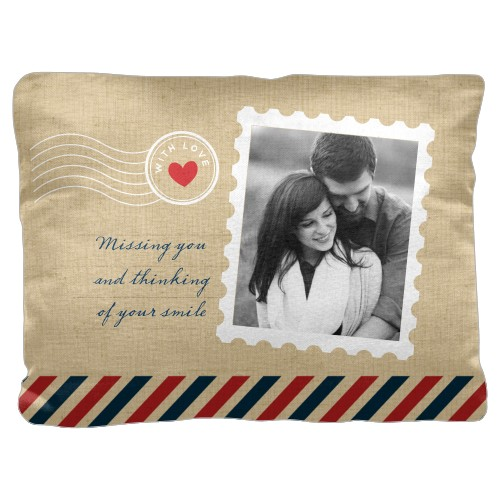 Stamped In Love Pillow