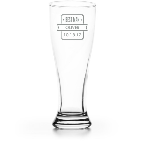 Shield of Honor Pilsner Glass
