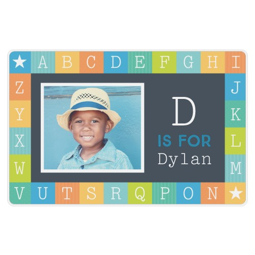 A is for Alphabet Boy Placemat