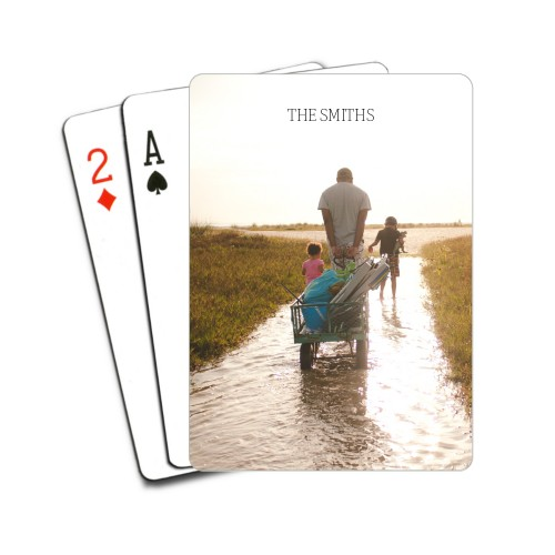 Photo Gallery Playing Cards
