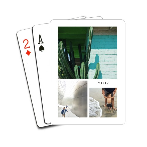 Hero Collage Playing Cards