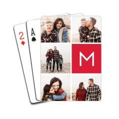 gallery monogram playing cards