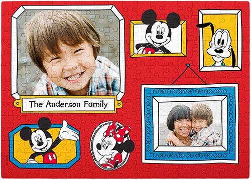 Disney Mickey And Friends Puzzle, 252 pieces, Red