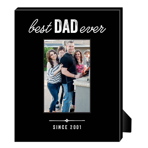 Best Ever Personalized Frame, - Photo insert, 8 x 10 Personalized Frame, Black
