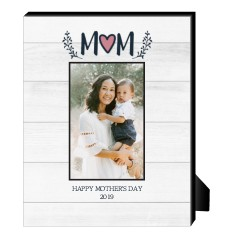 rustic mothers day personalized frame