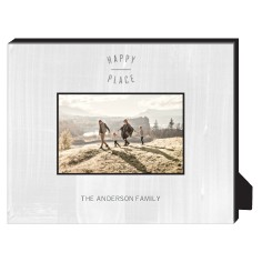 happy place personalized frame