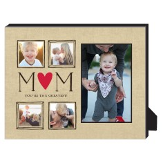 mom is the greatest personalized frame