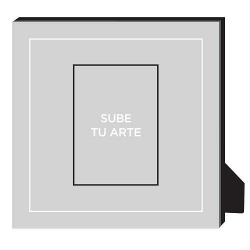 Sube Tu Arte Personalized Frame, - Photo insert, 11.5 x 11.5 Personalized Frame, Multicolor