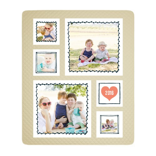 Whimsical Frames Photo Quilt