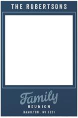 family get together selfie frame