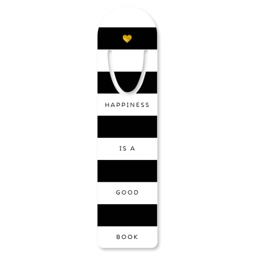 Dots and Stripes Set Custom Bookmark, Set of 1, DynamicColor